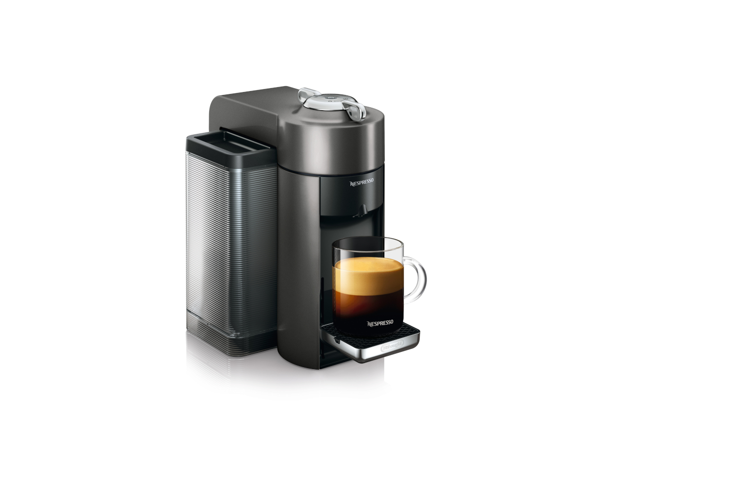 Nespresso Vertuo Coffee & Espresso Machine by De'Longhi - Graphite Metal