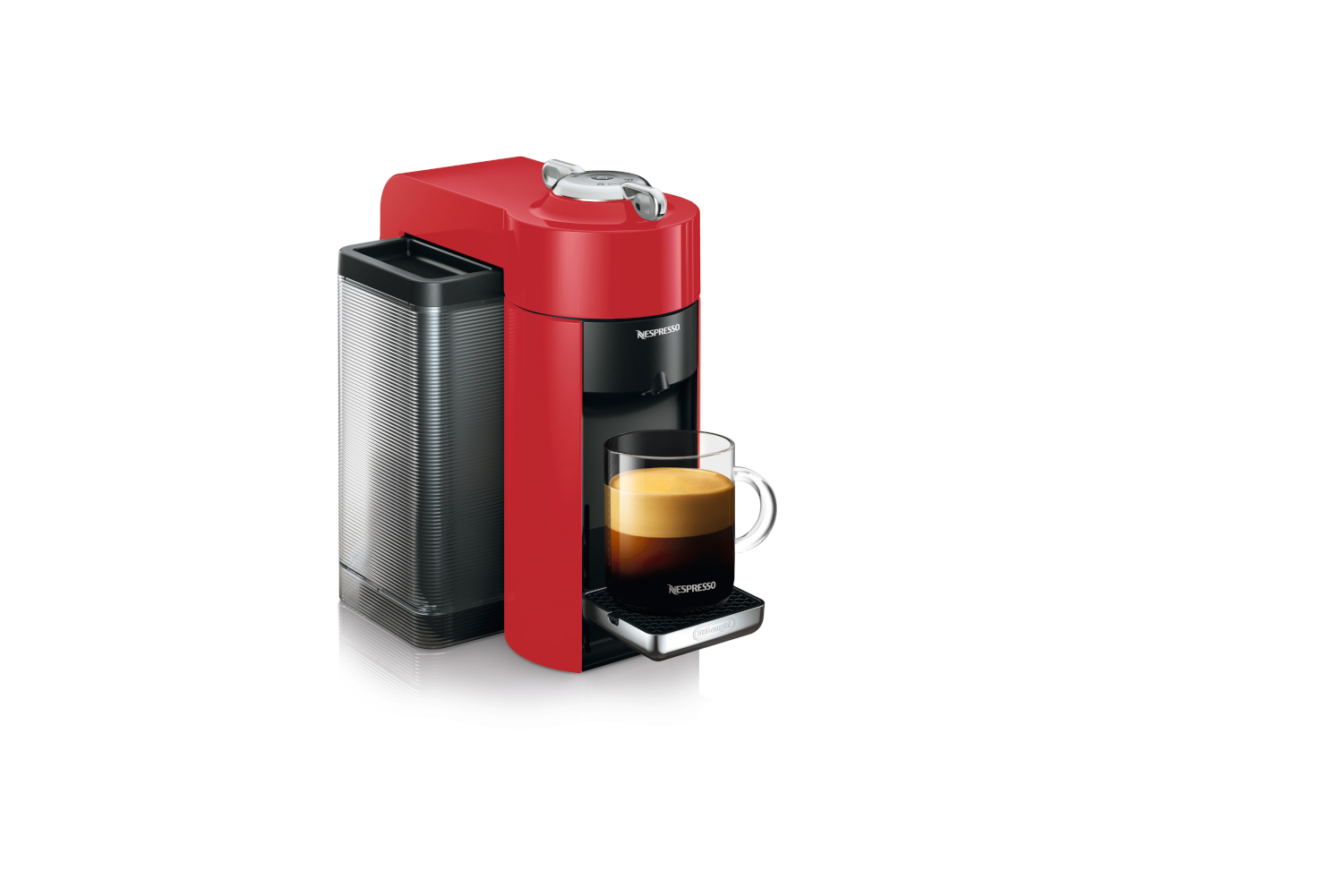 Nespresso Vertuo Coffee & Espresso Machine by De'Longhi - Red