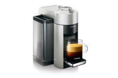 Nespresso Vertuo Coffee & Espresso Machine by De'Longhi - Silver