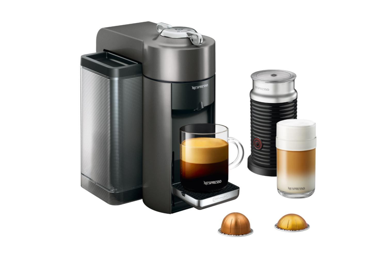 Nespresso Vertuo Coffee & Espresso Machine by De'Longhi w/Aeroccino3 - Titan