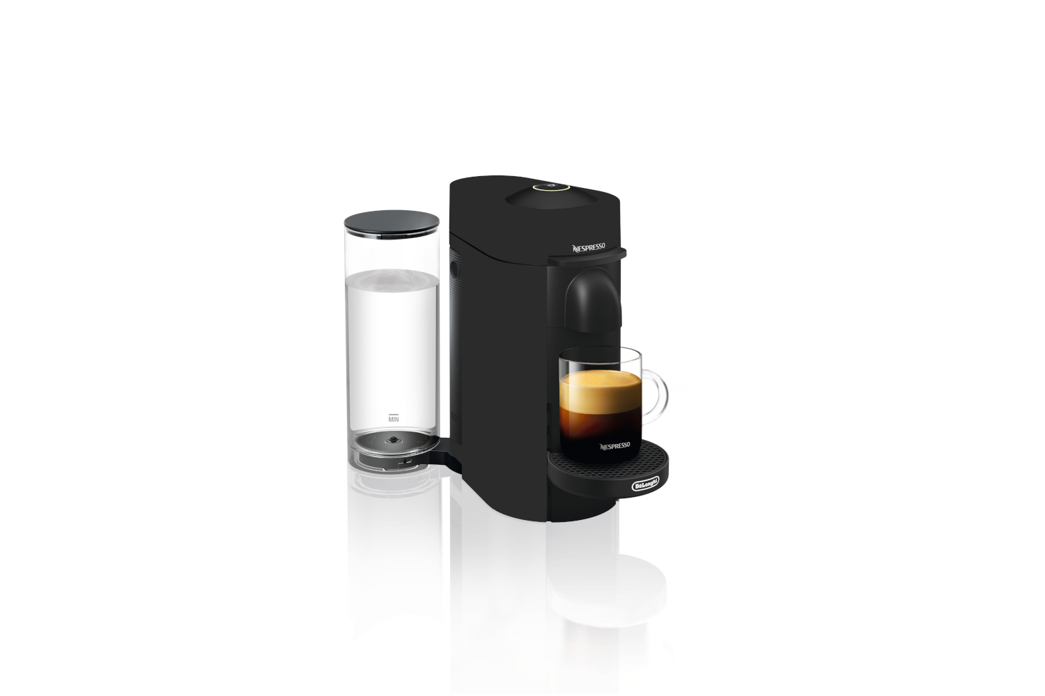 Nespresso VertuoPlus Coffee & Espresso Machine by De'Longhi - Limited  Edition - Black Matte