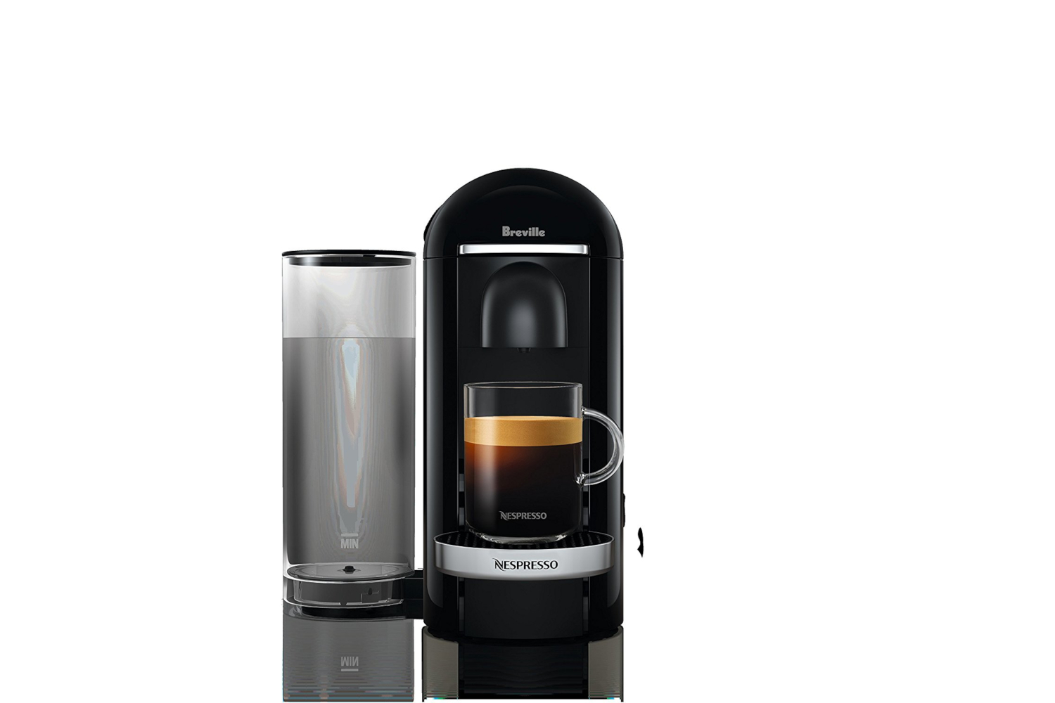 Nespresso VertuoPlus Coffee & Espresso Machine by De'Longhi w/Aerocinno3 - Limited Edition - Black Matte