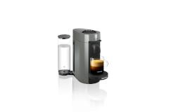 Nespresso VertuoPlus Coffee & Espresso Machine by De'Longhi - Grey