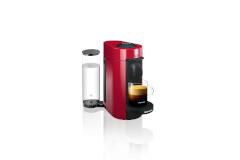 Nespresso VertuoPlus Coffee & Espresso Machine by De'Longhi - Red