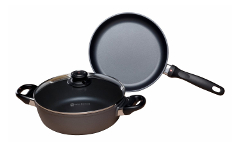 Swiss Diamond Nonstick 3 Piece Cookware Set