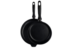 Swiss Diamond Classic+ XD Nonstick 9 1/2 & 11 inch Fry Pan Set