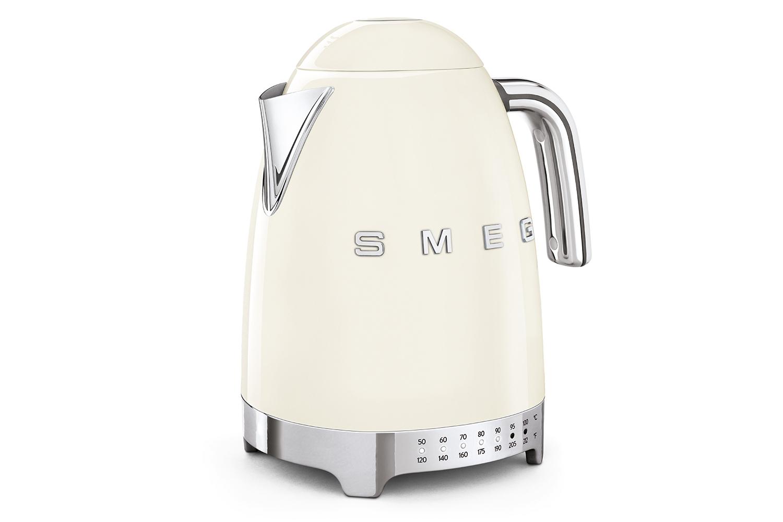 Smeg Retro Style Variable Temperature Kettle - Cream