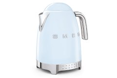 Smeg Retro Style Variable Temperature Kettle - Pastel Blue