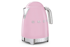 Smeg Retro Style Variable Temperature Kettle - Pink