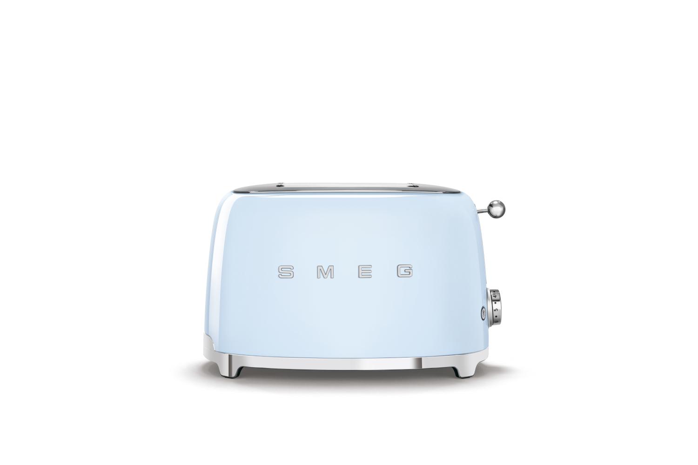 Smeg Retro Style 2x2 Slice Toaster - Pastel Blue