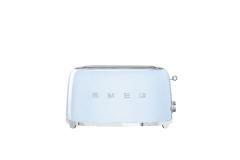 Smeg Retro Style 4 Slice Toaster - Pastel Blue