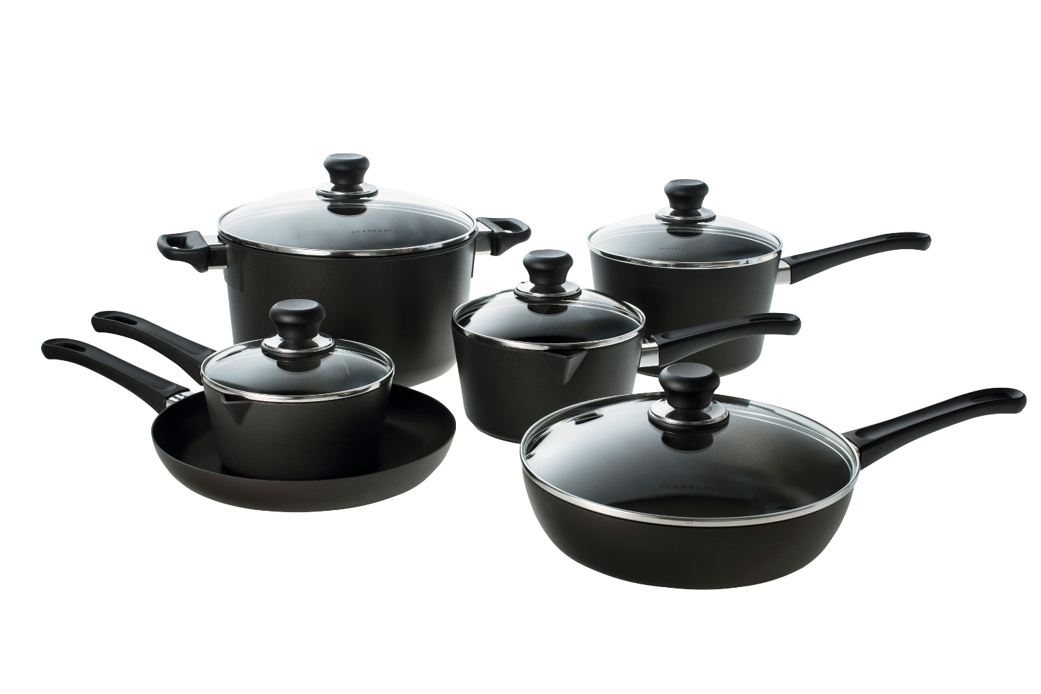 Scanpan Classic 11 Piece Nonstick Deluxe Chef's Cookware Set