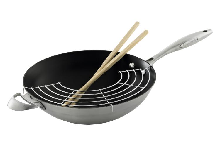 Scanpan Ctx 12 3 4 Inch Nonstick Wok Stir Fry Pan With