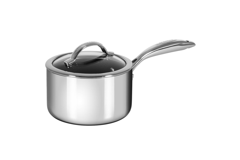 Scanpan Haptiq STRATANIUM+ 2 qt. Nonstick  Sauce Pan