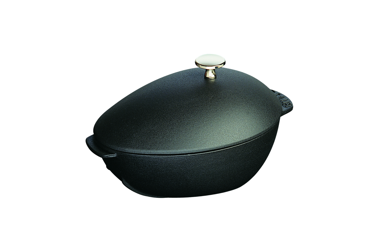 Staub Cast Iron 2 qt. Mussel Pot - Matte Black