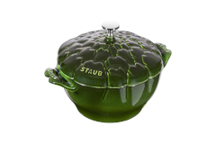 Staub Cast Iron 3 qt. Artichoke Cocotte - Basil