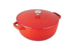 Staub Cast Iron 3 3/4 qt. Essential French Oven - Cherry