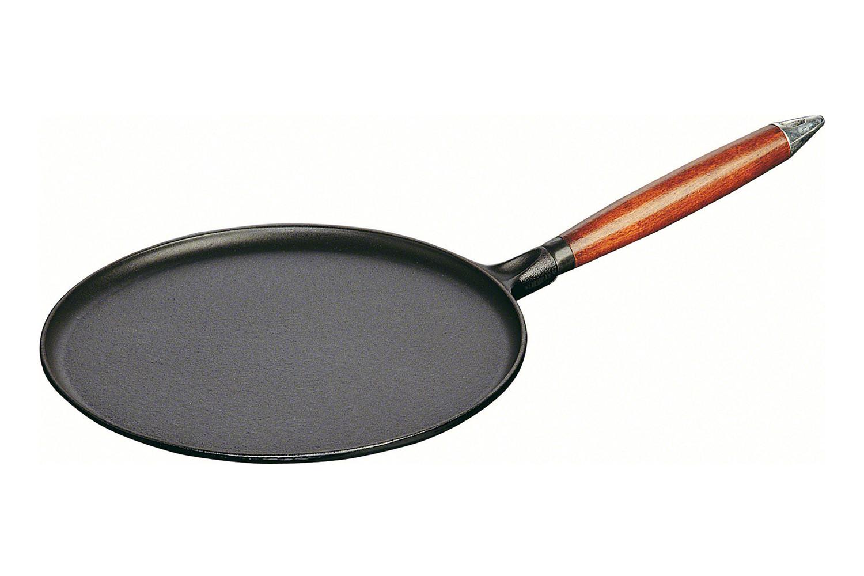Staub Cast Iron 11 inch Crepe Pan - Matte Black