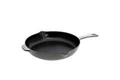Staub Cast Iron 10 inch Fry Pan - Matte Black