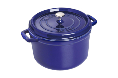 Staub 5 qt. Tall Round Oven - Dark Blue