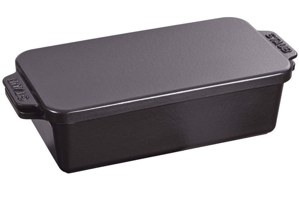 Staub Cast Iron 12 3/4  x  5 1/4  inch Covered Loaf Pan