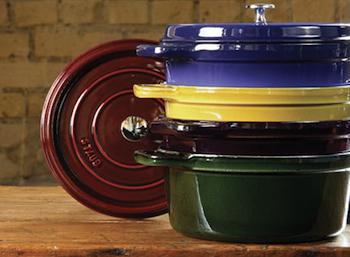 Staub Cast Iron Cookware Sale