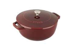 Staub Cast Iron 3 3/4 qt. Essential French Oven - Grenadine