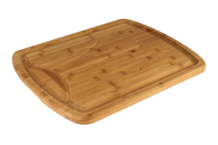 Totally Bamboo Carver 20 x 16 x 1 inch  Carving Board