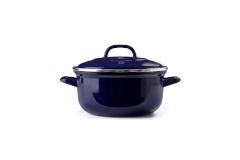 BK Enameled Steel 3 1/2 Quart Dutch Oven - Blue