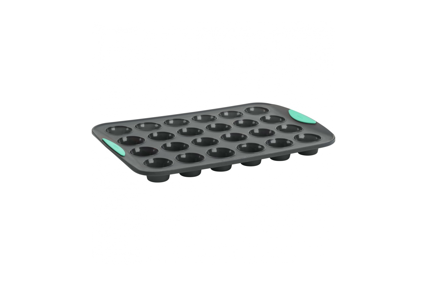 Trudeau Silicone Mini Muffin Pan - 24 Count