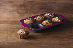 Trudeau Silicone Muffin Pan - 6 Count