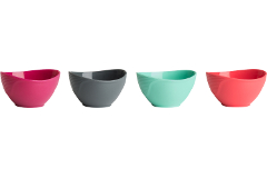 Trudeau Silicone Pinch Bowls - Set of 4
