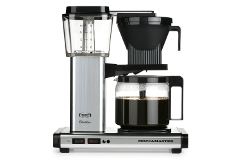Technivorm Moccamaster Auto Drip-Stop Coffee Maker - Polished Silver