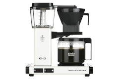 Technivorm Moccamaster Auto Drip-Stop Coffee Maker - White