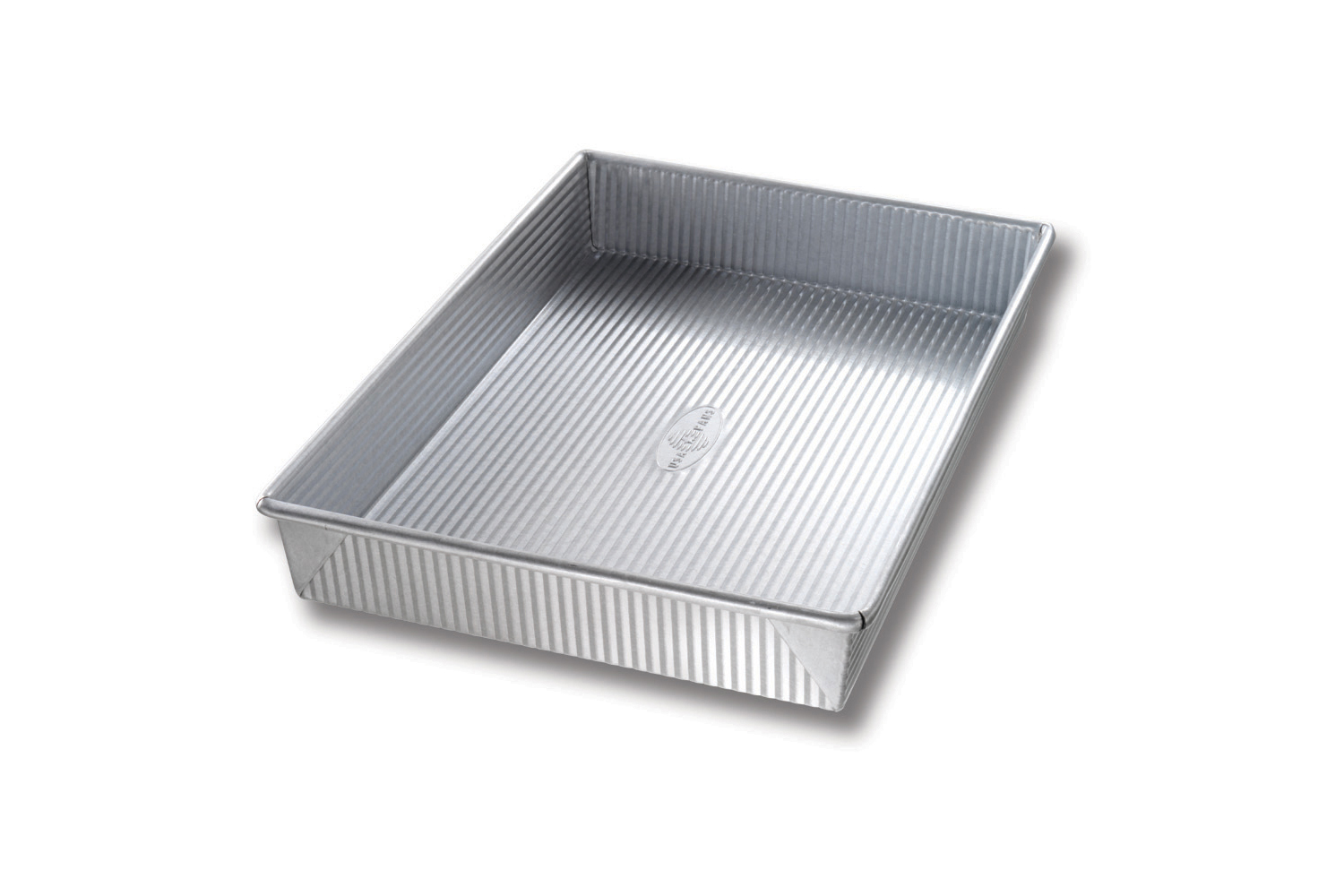 USA Pan Bakeware 9 x 13 x 2-1/4 inch Rectangular Cake Pan
