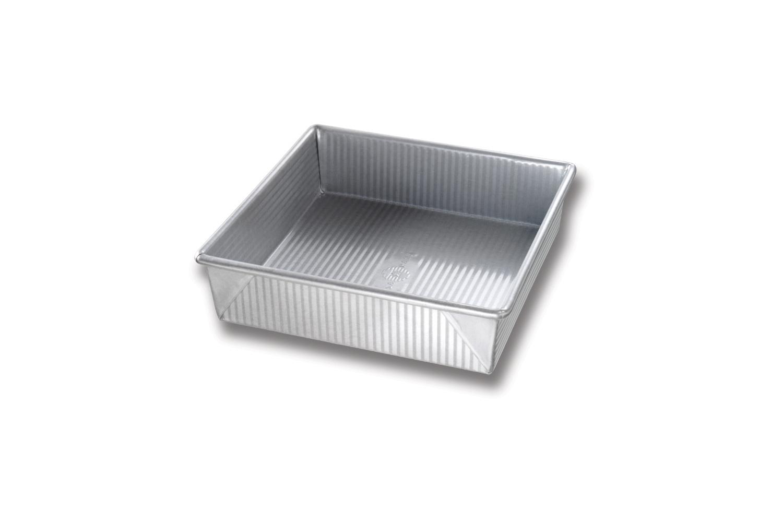 USA Pan Bakeware 8 x 8 x 2-1/4 inch Square Cake Pan