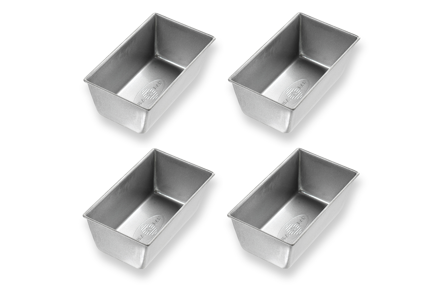 USA Pan Bakeware Mini Loaf Pan - Set of 4