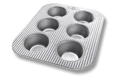 USA Pan Bakeware 6 inch Toaster Muffin Pan