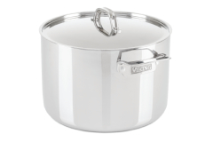 Viking 3-Ply Stainless Steel 12 qt. Stock Pot w/Lid