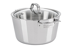 Viking Contemporary 3 Ply Stainless Steel 5.2 qt. Dutch Oven w/lid