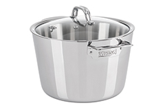 Viking Contemporary 3 Ply Stainless Steel 8 qt. Stock Pot w/lid
