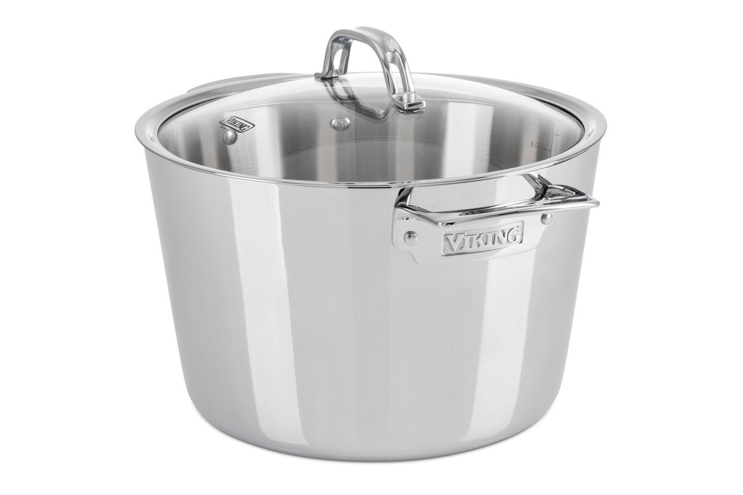 Viking Contemporary 3 Ply Stainless Steel 80qt Stock Pot W Lid