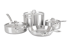 Viking Professional 5 Ply Stainless Steel 7 Piece Cookware Set