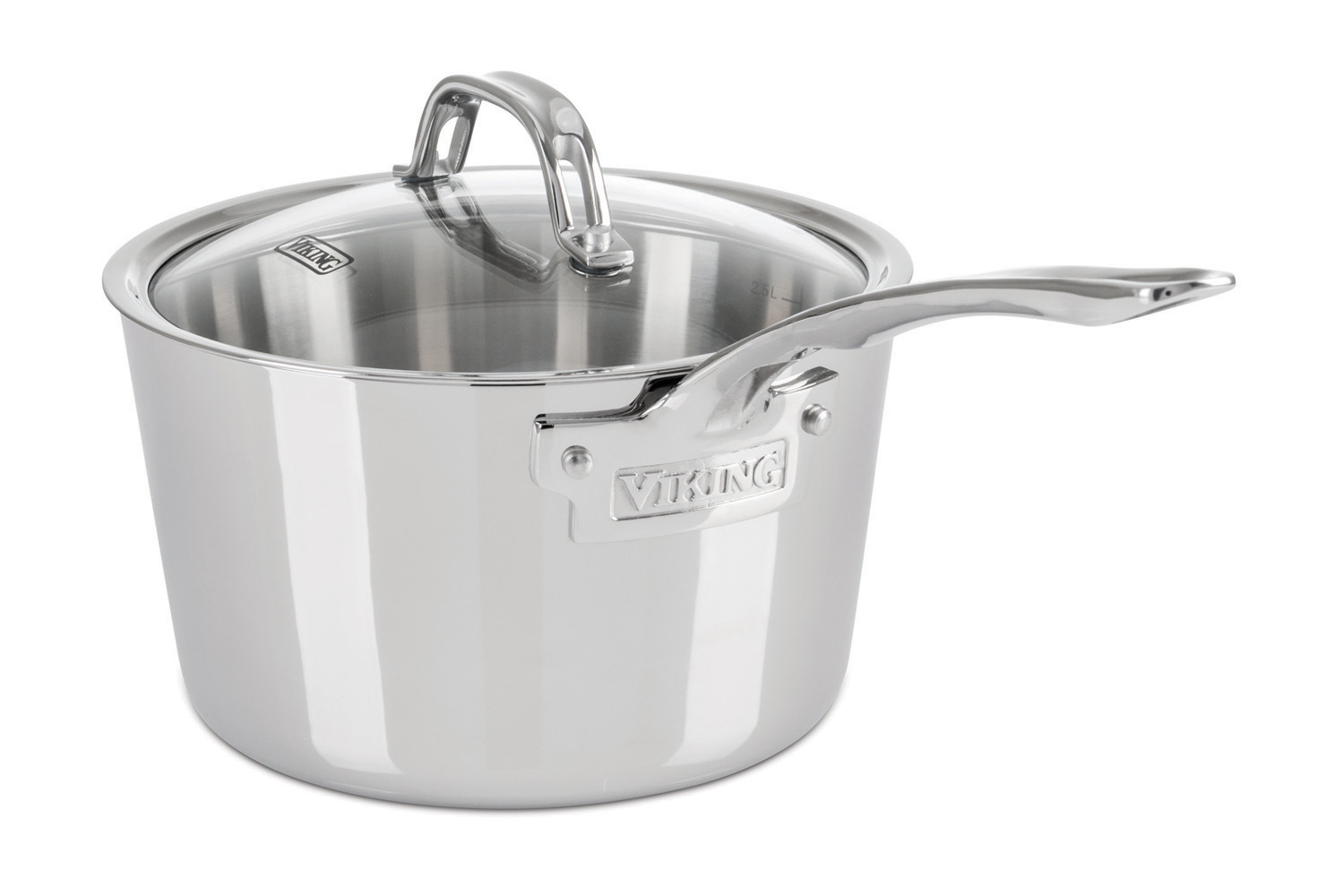 Viking Contemporary 3 Ply Stainless Steel Sauce Pans