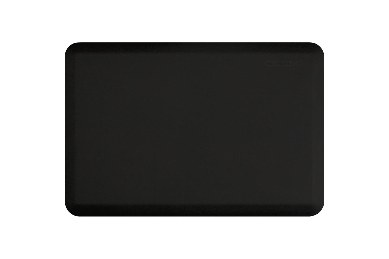 Wellness Anti-Fatigue Kitchen Mat - 3 x 2 ft. - Black