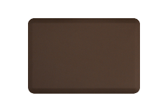 Wellness Anti-Fatigue Kitchen Mat - 3 x 2 ft. - Brown