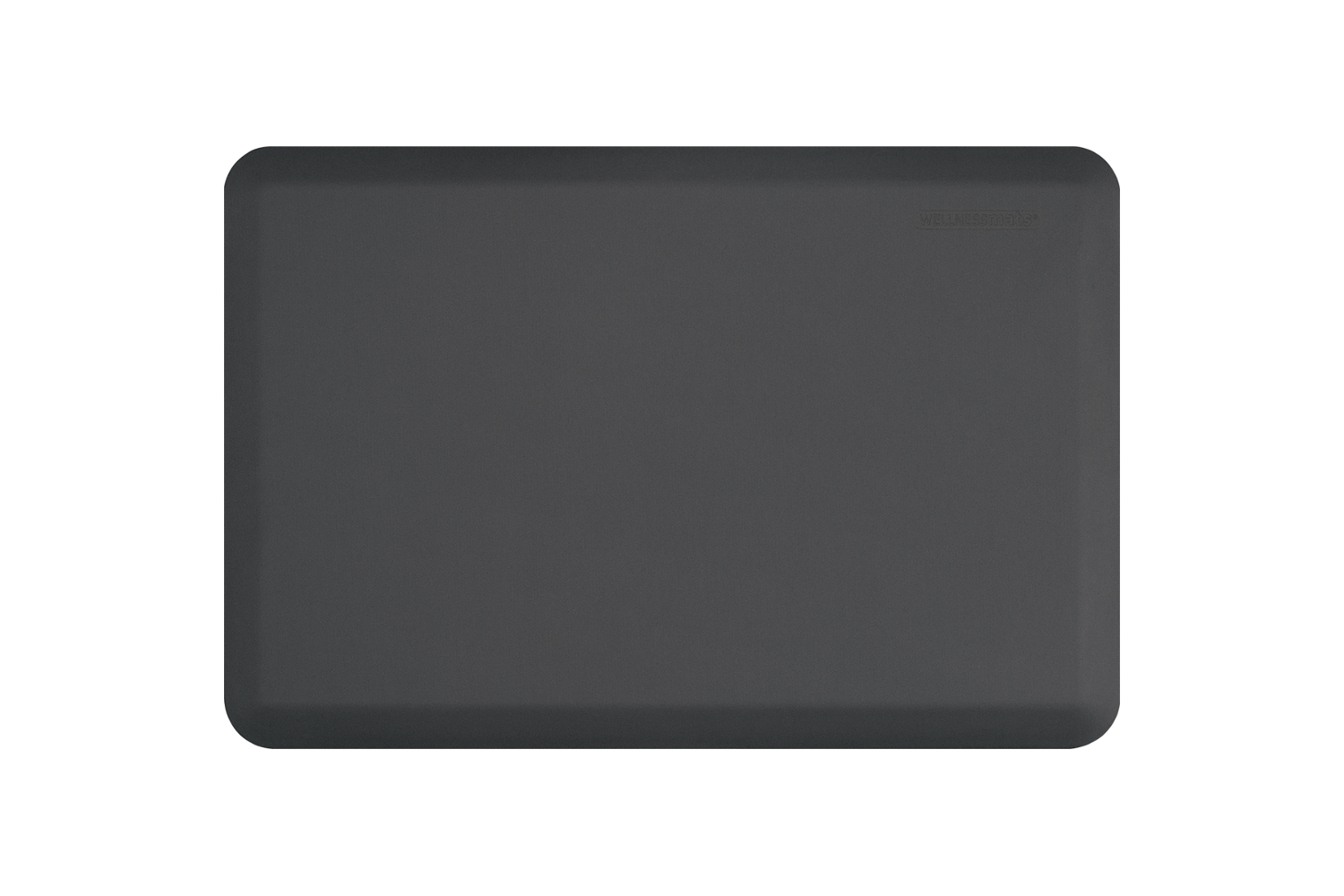 Wellness Anti-Fatigue Kitchen Mat - 3 x 2 ft. - Gray