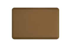 Wellness Anti-Fatigue Kitchen Mat - 3 x 2 ft. - Tan