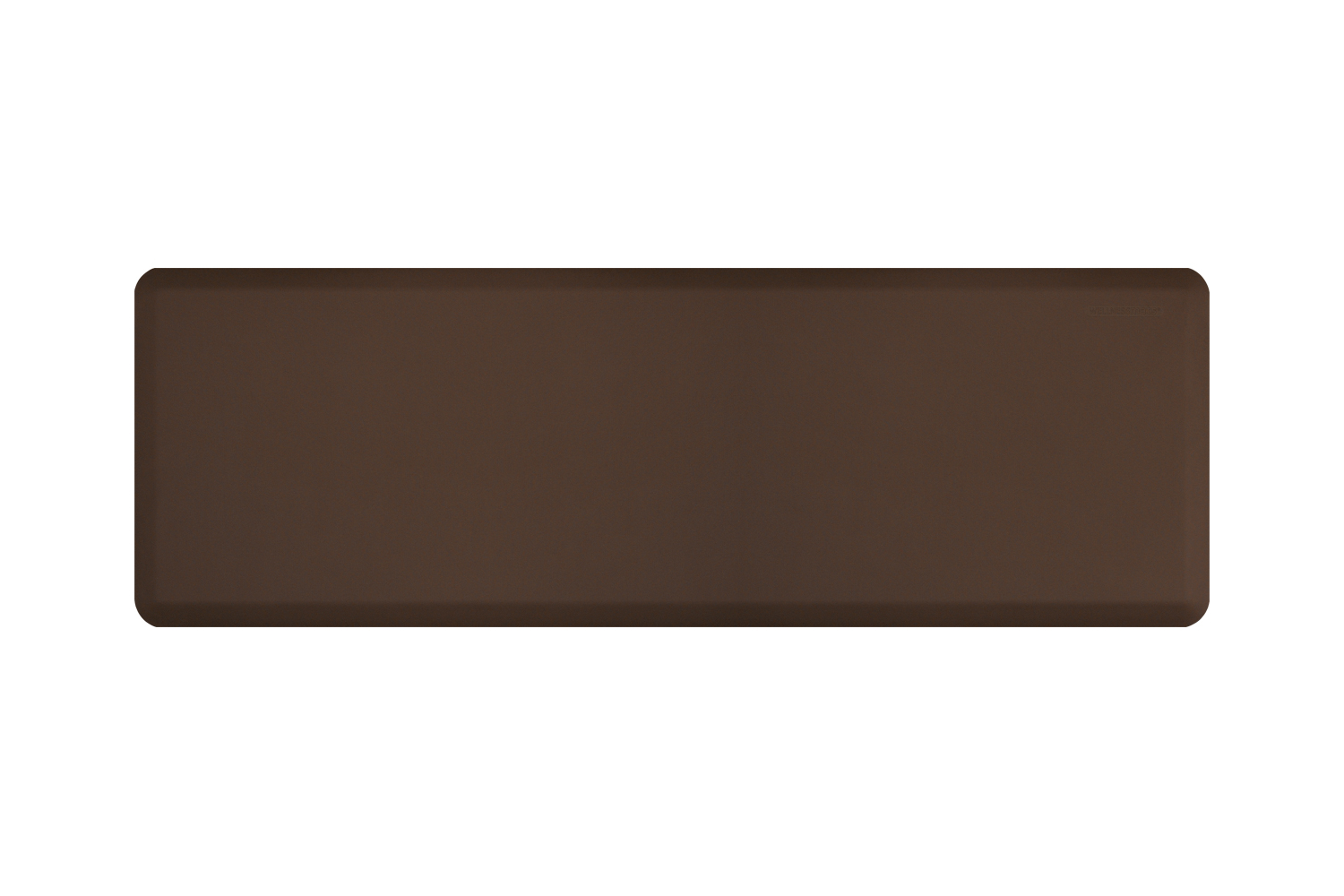 Wellness Anti-Fatigue Kitchen Mat - 6 x 2 ft. - Brown