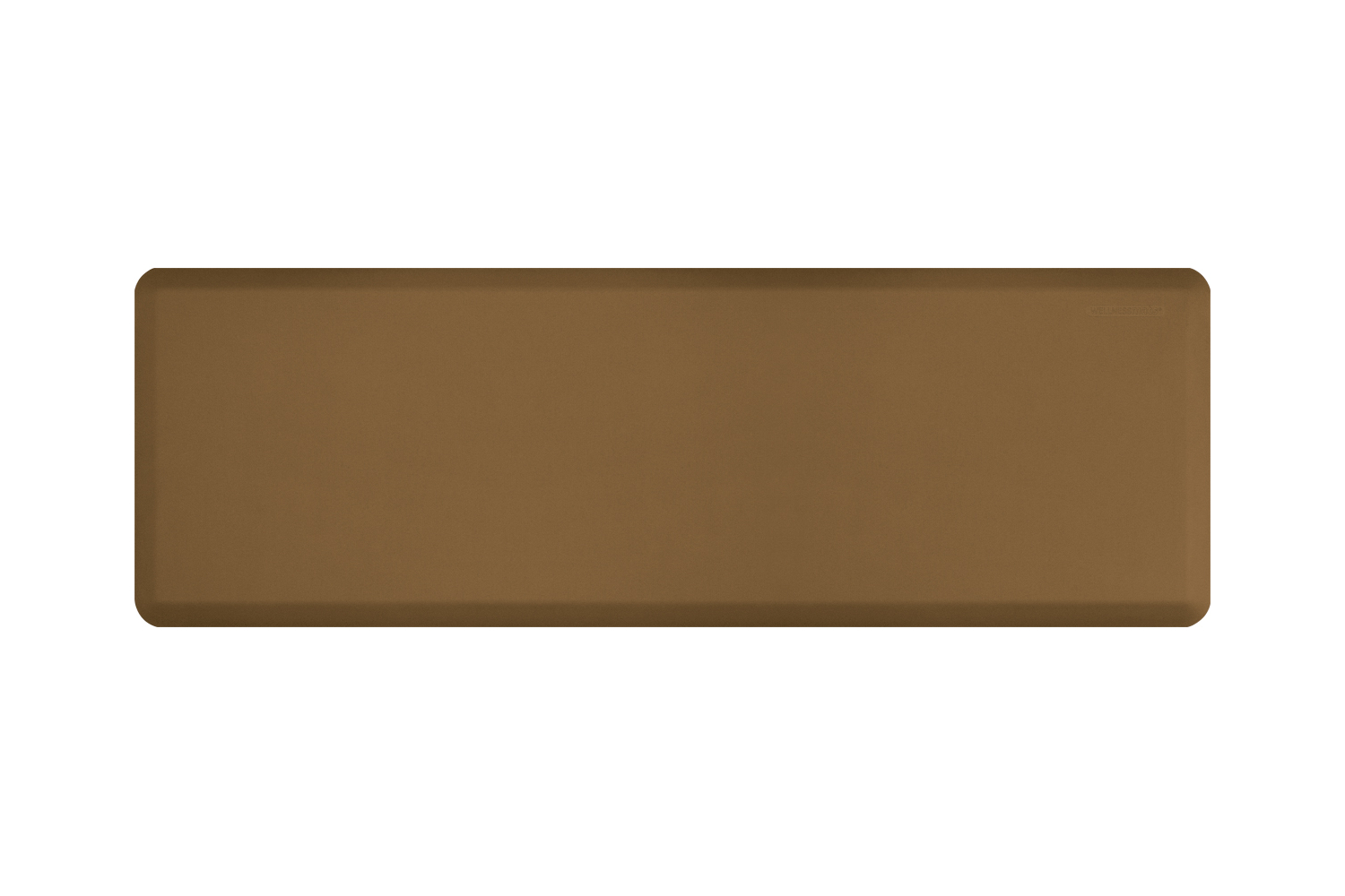 Wellness Anti-Fatigue Kitchen Mat - 6 x 2 ft. - Tan